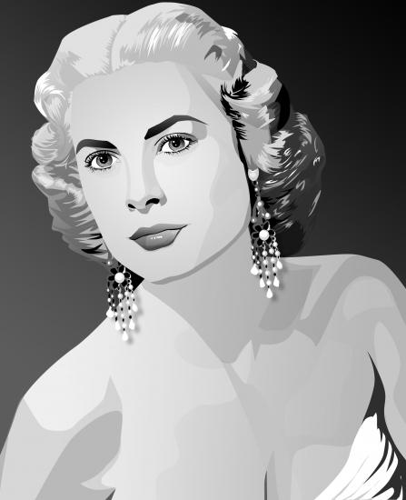 Grace Kelly por blazinphoenix